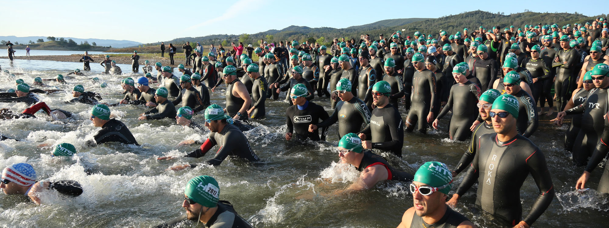 AlphaWin Napa Valley Triathlon Swim
